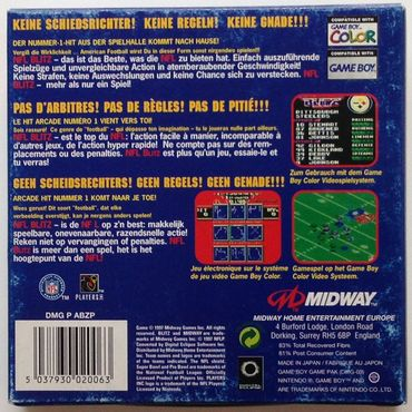 NFL Blitz (GameBoy Color) (Gebraucht) (OVP) – Bild 3