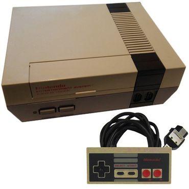 NES Konsole inkl. Controller & Kabel (Nintendo) (Gebraucht) – Bild 1