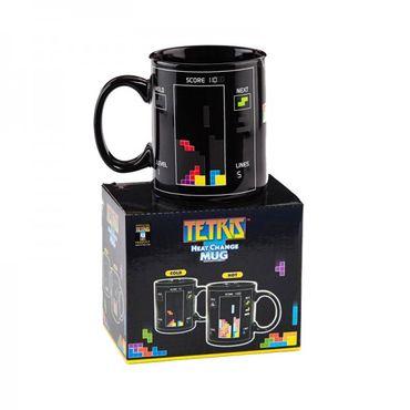 "Tetris Tasse mit Thermoeffekt ""Heat Change Mug"" (Paladone) (Neu) – Bild 3"