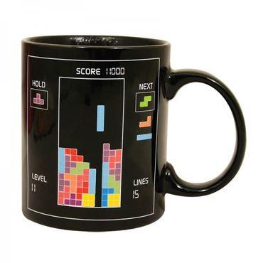 "Tetris Tasse mit Thermoeffekt ""Heat Change Mug"" (Paladone) (Neu) – Bild 1"