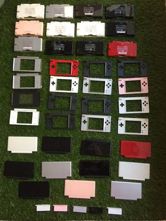 Nintendo DS Lite Gehäuseteile Defekt / Retourenware (B-Ware) – Bild 1