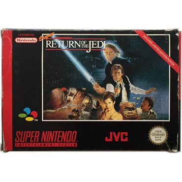 Super Star Wars - Return of the Jedi (SNES) (Gebraucht) (OVP) – Bild 1