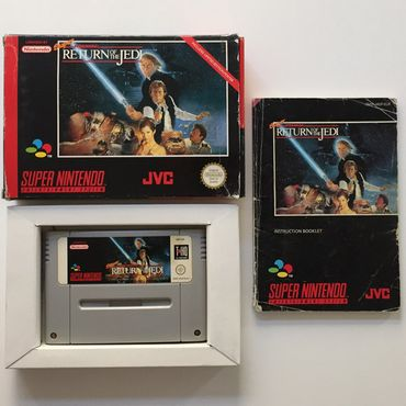 Super Star Wars - Return of the Jedi (SNES) (Gebraucht) (OVP) – Bild 2