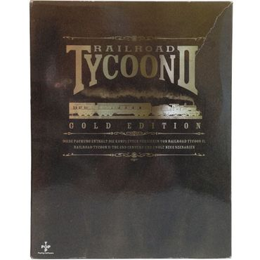 Railroad Tycoon II (Gold Edition) (PC) (Gebraucht) (Big Box)