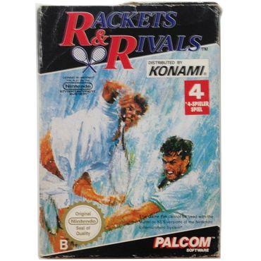 Rackets & Rivals (NES) (Gebraucht) (OVP ohne Anleitung) – Bild 1