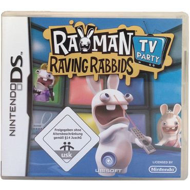 Rayman Raving Rabbids TV Party (Nintendo DS) (Gebraucht) (OVP)