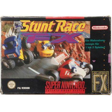 Stunt Race FX (SNES) (Gebraucht) (OVP) – Bild 1