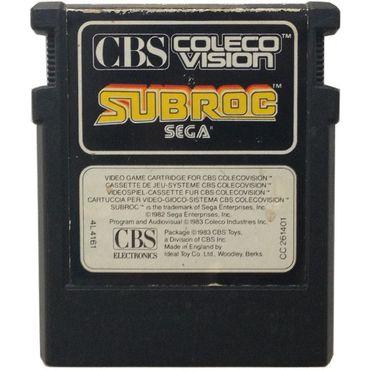 Subroc (ColecoVision) (Coleco/CBS) (Gebraucht) (Nur Modul)