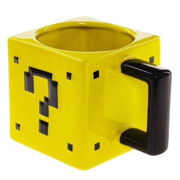 "Power Up Tasse ""Fragezeichenblock"" (ThinkGeek) (Neu) – Bild 2"