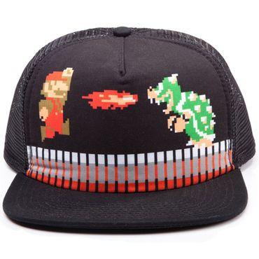 "Mario Bros. Trucker Cap ""Mario & Bowser"" (Bioworld) (Neu) – Bild 1"