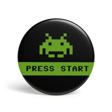 Button - Press Start - (Get Digital) (Neu)