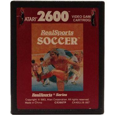 Real Sports Soccer (Atari 2600) (Gebraucht) (Nur Modul)