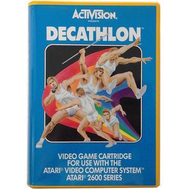 Decathlon (Atari 2600) (Gebraucht) (OVP) – Bild 1