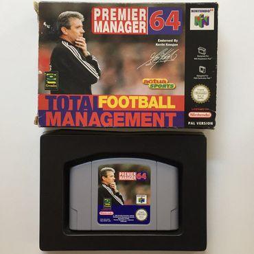 Premier Manager 64 (N64) (Gebraucht) (OVP ohne Anleitung) – Bild 2
