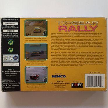 Top Gear Rally (N64) (Gebraucht) (OVP) – Bild 3