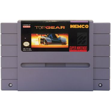 Top Gear (US-Version) (SNES) (Gebraucht) (Nur Modul)