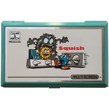 Game & Watch - Squish - MG-61 - Multi Screen - 1986 (Nintendo) (Gebraucht)