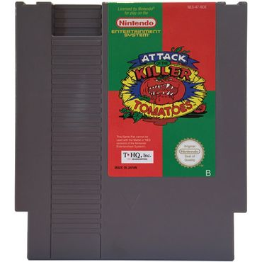 Attack of the Killer Tomatoes (NES) (Gebraucht) (Nur Modul)
