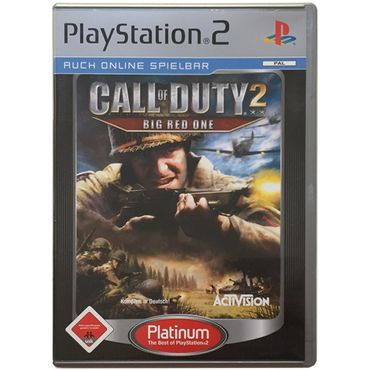 Call of Duty 2 - Big Red One (Platinum) (PlayStation 2) (Gebraucht) (OVP)