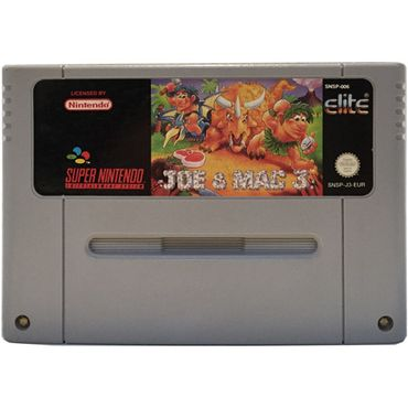 Joe & Mac 3 - Lost in the Tropics (SNES) (Gebraucht) (Nur Modul)