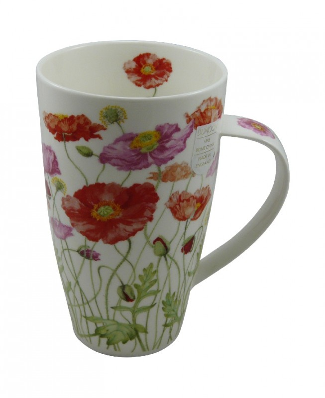 dunoon tasse henley poppies by anne searle rosarot 600ml porzellan und wohnaccessoires dunoon. Black Bedroom Furniture Sets. Home Design Ideas