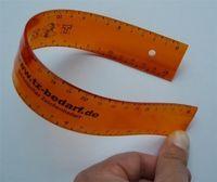 flexibles Lineal  transparent 30cm