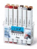 COPIC 12er Set Architekturfarben
