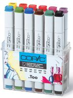 COPIC Marker Set 12er - Leuchtende Farben