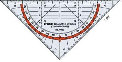 Geometrie-Dreieck 16 cm