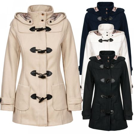 Laeticia Dreams Duffelcoat Kurzmantel – Bild 1