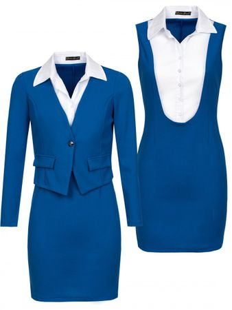 Laeticia Dreams Business Kostüm mit Blazer (2-teilig) – Bild 12