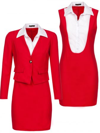 Laeticia Dreams Business Kostüm mit Blazer (2-teilig) – Bild 15