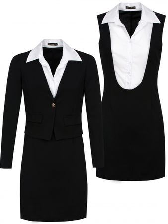 Laeticia Dreams Business Kostüm mit Blazer (2-teilig) – Bild 2