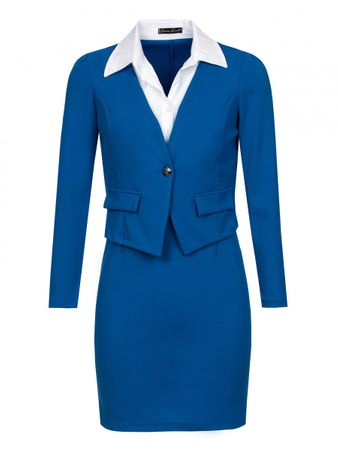 Laeticia Dreams Business Kostüm mit Blazer (2-teilig) – Bild 13