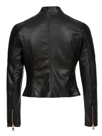 Laeticia Dreams Lederimitat-Jacke Biker Look – Bild 5