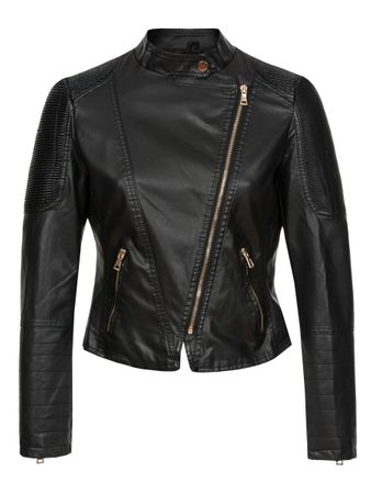 Laeticia Dreams Lederimitat-Jacke Biker Look – Bild 3