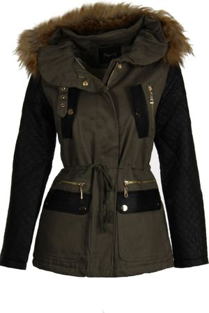 Laeticia Dreams Parka Winterjacke – Bild 2