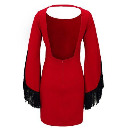 Laeticia Dreams Damenkleid mit Fransen – Bild 7