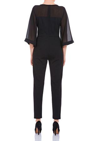 Laeticia Dreams Damen Overall Einteiler Jumpsuit Langarm Kimonoärmel S M L XL – Bild 4