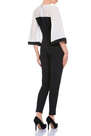 Laeticia Dreams Damen Overall Einteiler Jumpsuit Langarm Kimonoärmel S M L XL – Bild 10