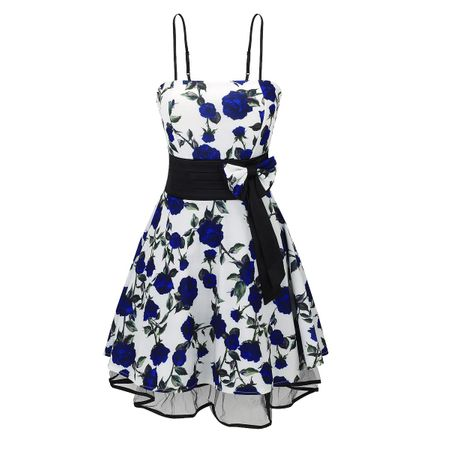 Laeticia Dreams Damen Kleid Rockabilly Blumenmuster S M L XL – Bild 10