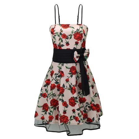 Laeticia Dreams Damen Kleid Rockabilly Blumenmuster S M L XL – Bild 16
