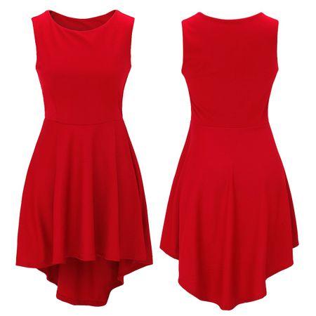 Laeticia Dreams Damen Kleid Knielang Sommerkleid Schleppe S M L XL – Bild 11