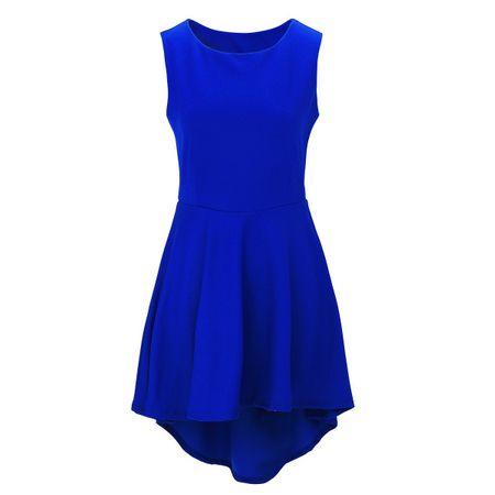 Laeticia Dreams Damen Kleid Knielang Sommerkleid Schleppe S M L XL – Bild 6