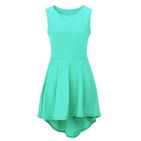 Laeticia Dreams Damen Kleid Knielang Sommerkleid Schleppe S M L XL – Bild 24
