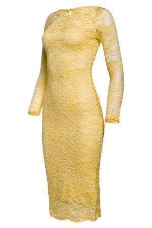 Laeticia Dreams Damen Kleid aus Spitze Langarm Wadenlang S M L XL XXL XXXL – Bild 24