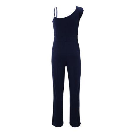 Laeticia Dreams Overall Jumpsuit Hose Catsuit Einteiler Einarm Einarm Träger S M L XL  – Bild 12
