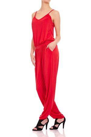Laeticia Dreams Damen Träger Overall Hose Jumpsuit Catsuit Einteiler S M L XL – Bild 12