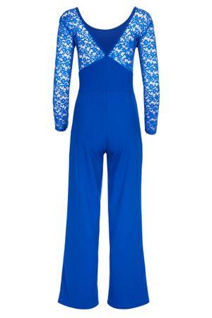 Eleganter Laeticia Dreams Damen Jumpsuit Einteiler mit Spitze Bootcut S M L – Bild 12