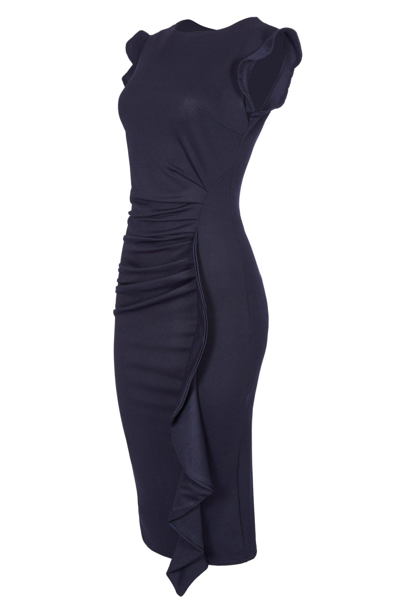 Kleid langarm wadenlang